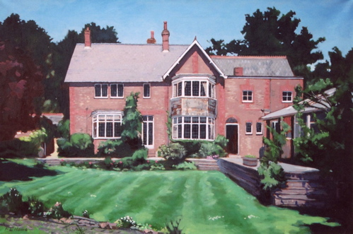 English Manor Home